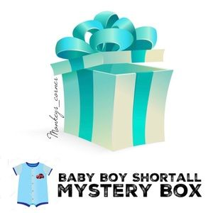 Other - MYSTERY BOX⚡️6 Pcs Baby Boy Shortall_12 months